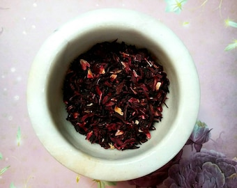 Hibiscus Flowers - Hibiscus sabdariffa - Lust, Love, Divination - Magickal Herb - Incense Supplies - Herbology -DIY Incense