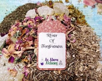 River of Forgiveness - Heart-Opener - Loose Incense - Original Recipe - Handmade - Love, Compassion, Healing