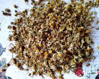 BULK - Chamomile Flowers - Spiritual Herbs - Sleep, Money, Hex Breaker - Incense Supplies - Herbology - DIY Incense - Witchcraft