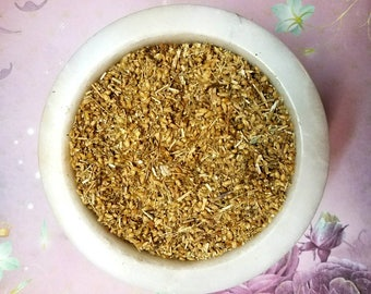Yarrow Herb - Love, Good Luck, Protection - DIY Incense, Witchcraft, & Spellcasting Herb - Hedge Witch Cabinet - Herb Kit