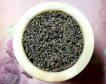Lavender - Lavandula angustifolia - Love, Protection, Sleep, Peace - Incense Supplies - Herbology -DIY Incense