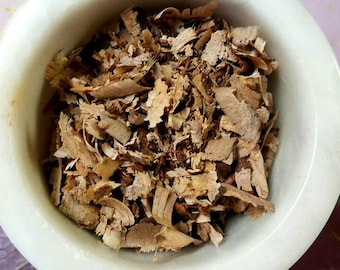 Homegrown Cherry Wood Chips - Prunus avium - Incense Supplies - Natural Sacred Herbs - Hand Harvested - DIY Witchcraft - Love