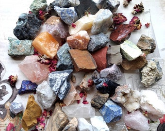 Choose Your Own Stones - Bulk - Rough - Specimen Stones - Chakra, Reiki Crystal Healing - Altar Decoration - Worry Stones - Bulk Wholesale
