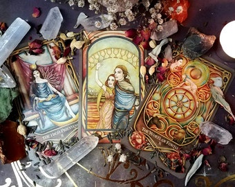 Tarot reading by Genie Fae - One Card to Celtic Cross Reading - You Choose - PDF or Mailed Summary and Interpretation