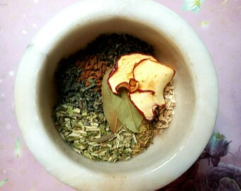 Goddess Athena Loose Incense - Original Recipe - Handmade - Cauldron Incense for Wisdom and Strength - Honoring Incense