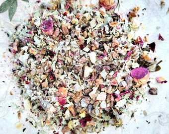 Flow - Loose Incense - Realignment, Flowing Energy, Water Elemental - Handmade Original Recipe - Meditation and Spirituality - Pisces