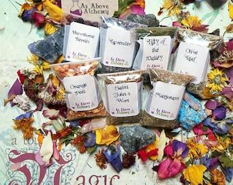 DIY Healing Set of Herbs DIY Incense Potion Spell Herbs | Etsy