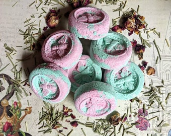Shower Steamers - Lemongrass and Rose Aromatherapy - Shower Bath Bomb