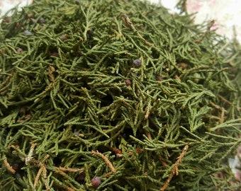 Homegrown Red Cedar - (Juniperus virginiana) - Incense Supplies - Natural Sacred Herbs - Hand Harvested