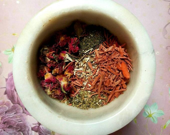 Featured listing image: Lammas Lughnasadh  - Handmade Sabbat Incense Blend - Loose Incense - Wiccan & Pagan Holiday Incense - Fall Incense