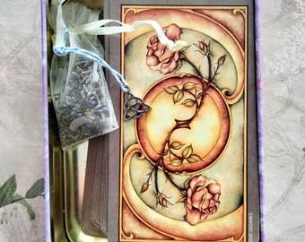 Tarot Cleansing - Herbal Sachet - Ritual - Tarot, Rune, Metaphysical Tool Purification Herbal Mix