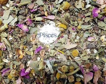 Pisces Zodiac Loose Incense - Handmade Original Recipe - Meditation and Spirituality - Zodiac and Astrology
