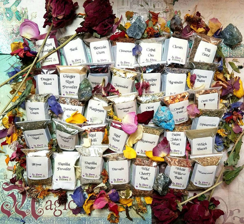 DIY Love Set of Herbs - DIY Incense, Potion, Spell - Herbs & Resins - You  Choose Number - Witchcraft Supplies