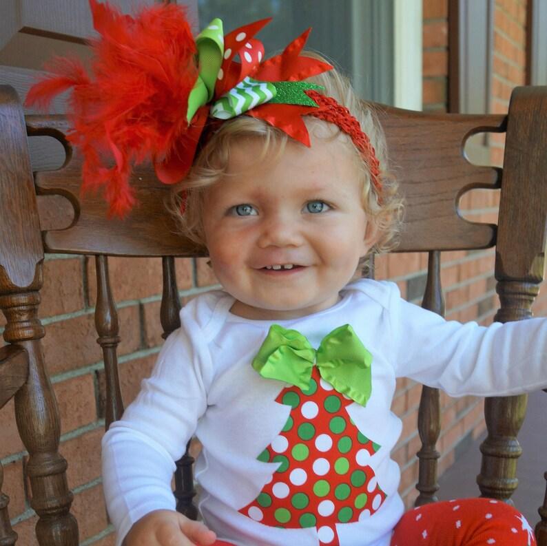 349590140801 Baby girl Christmas outfit baby Christmas leg warmers Baby