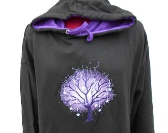 Celtic Tree Hoodie, Tree of Life Hoodie, Yggdrasil Hoodie, Embroidered hoodie, XS - 5XL HEAVY HOODIE