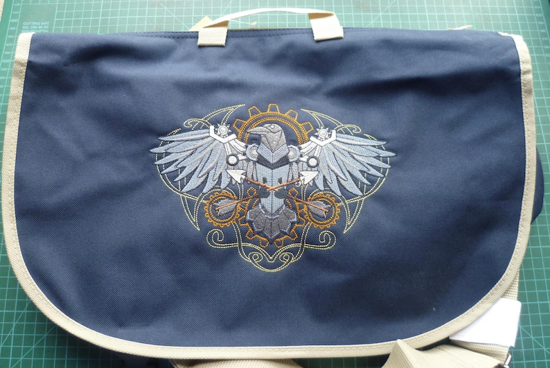 8cdb63cbbc Steampunk Raven Bag Steampunk Bag Raven Bag Embroidered