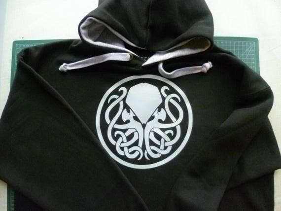 cthulhu hoodie uk zip up