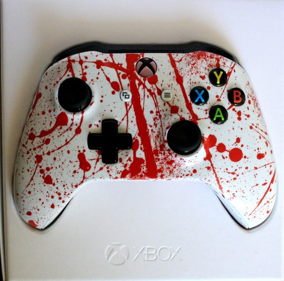 Xbox One Bluetooth Custom Controller Brand New Led Red Mod Etsy