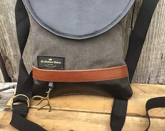 Small bag, Grey Canvas