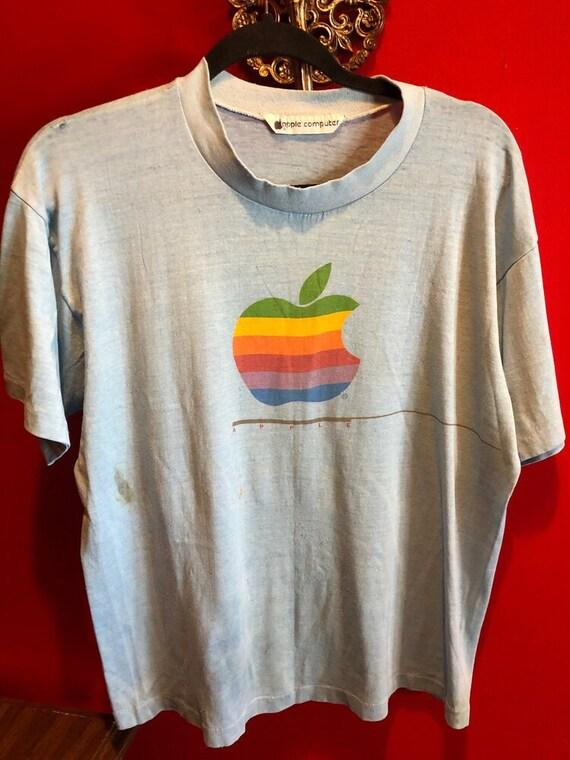 Vintage Authentic 80s Apple Computers T-shirt