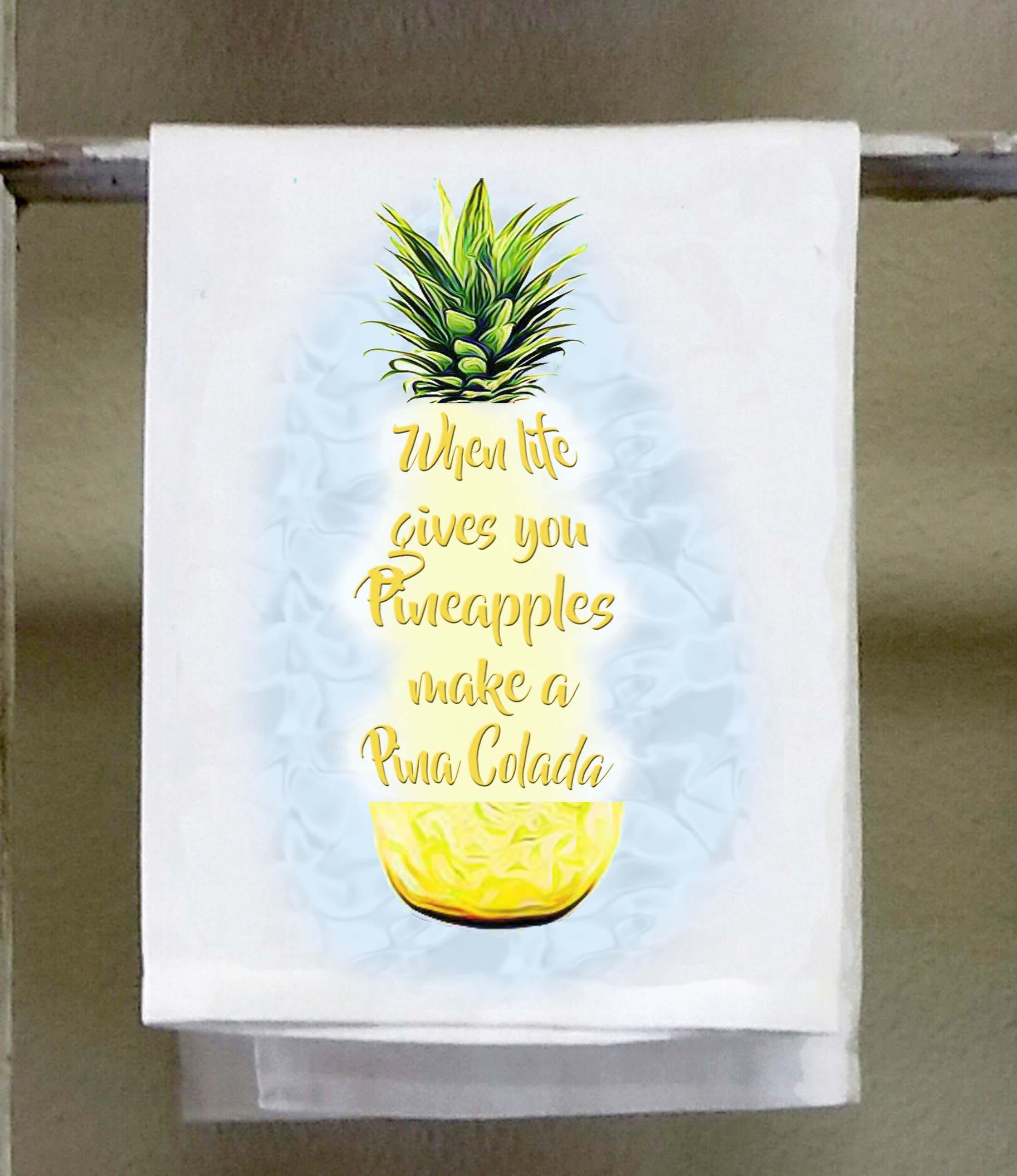 Wenn das Leben gibt machen Sie Ananas eine Pina Colada | Etsy
