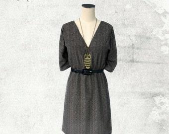 PDF Sewing Pattern Woman's Lilly Kimono Dress - D1403 Sizes 2-12