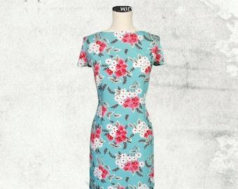 PDF Sewing Pattern Woman's Poppy T-Shirt Dress - D1402 Sizes 8-18