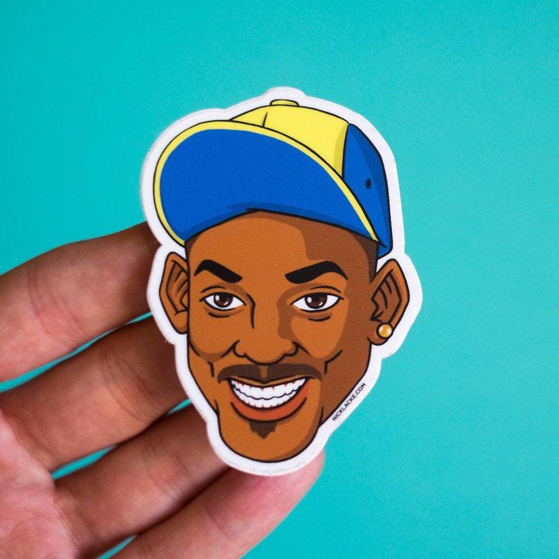 Fresh Prince of Bel-Air Will Smith Vinyl Sticker image 0