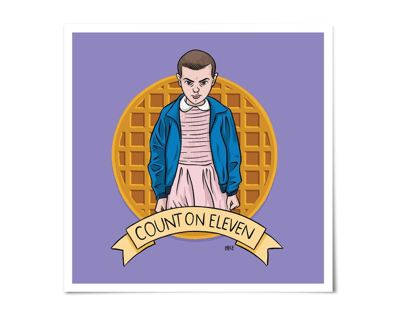 Stranger Things  Count on Eleven 011 Art image 0