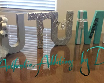 Breakfast at Tiffany's Inspired 8in.Letters