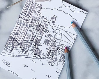 Brontë Sisters Pocket Notepad A6 Line Art Illustrated Cover Etsy
