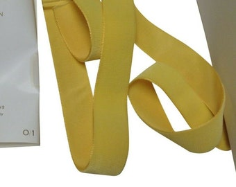 "10 Yards 2/"" Brown Velvet Vintage Ribbon Fabric Made in France Antique Wash Wear"