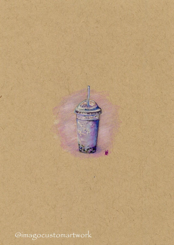 Fine Art Greeting Card/Print Colored Pencil Mini Drawing | Etsy