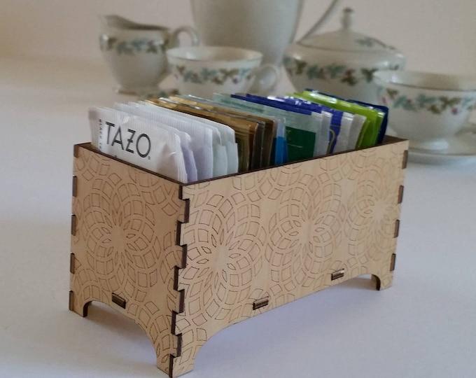 Decorative Tea Box, Sacred Geometry Design