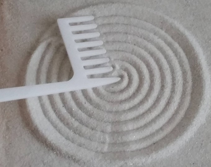 Zen Garden Rake, Medium Concentric Circle Maker Rake, Sand Rake