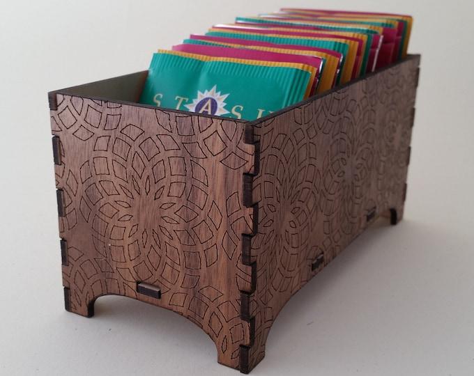 Decorative Tea Box, Geometric Design