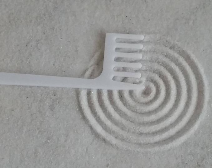 Zen Garden Rake, Small Concentric Circle Maker, Sand Rake