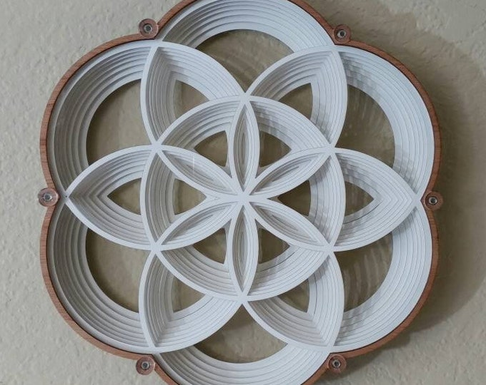 Seed of Life Paper Sculpture, LG