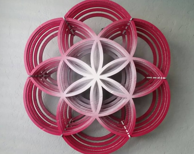 Seed of Life 3D Sculpture