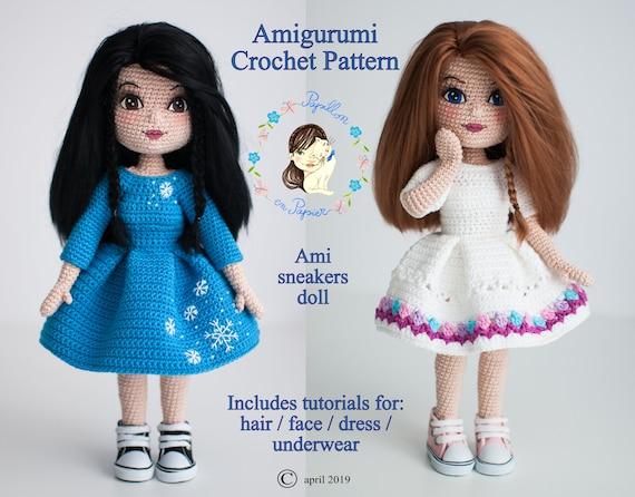 By Hook, By Hand: Free Spirit Amigurumi Doll Pattern | 446x570