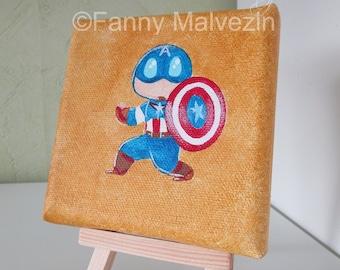 Captain America (Marvel) - Mini painting