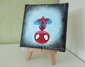 Spider-Man - Small painting