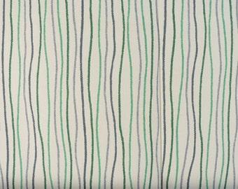 Stripe Shower Curtain Custom Streamers Ocean Kelly Green 72 X 84 108 Long Extra Wide