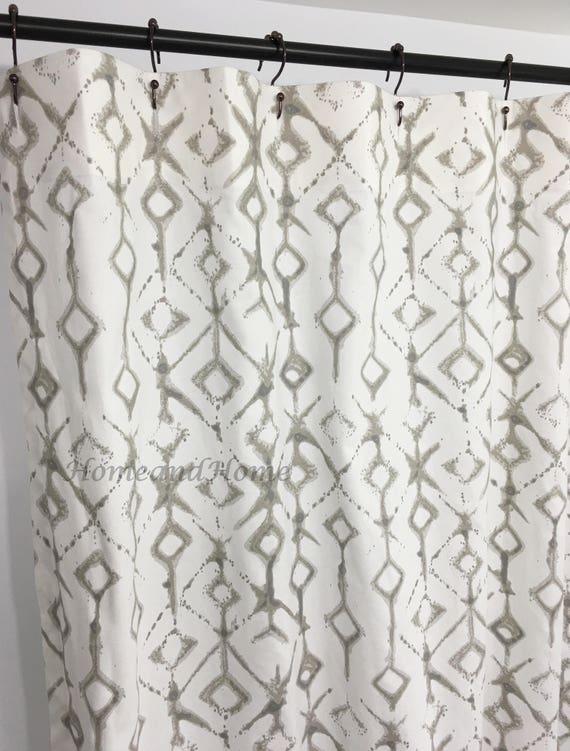 Ecru Shower Curtain Custom White Extra