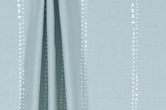 Spa Blue Shower Curtain 54 X 78 Stall Shower Curtain 72 X 84 Etsy