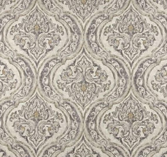 Damask Shower Curtain Custom Shower Curtain. Brown Taupe 72 X | Etsy