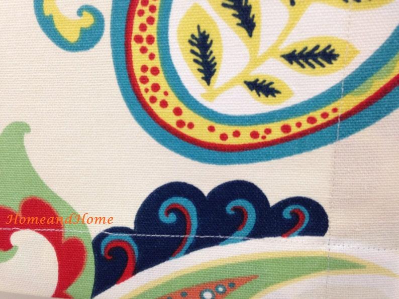 Valance 50 x 14 50 x 16 Gigi Kelly Green White valance Curtain Valance Topper Window Valance Kitchen Valance