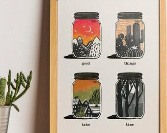 Scenery prints | Etsy