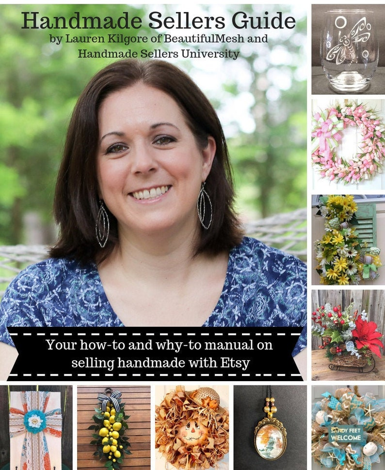 How to Sell on Etsy Guide Etsy eBook Etsy SEO Help Handmade image 0