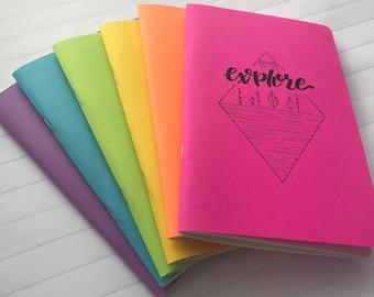 Explore Notebook - Dot Grid, Bullet Journal